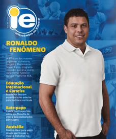 Revista IE Intercambio 2016 - Ronaldo Fenômeno Nazário